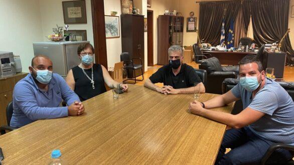 Ορεστιάδα: Συνάντηση Δημάρχου με εκπροσώπους φορέων σχετικά με το άνοιγμα του τελωνείου Καστανεών
