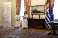 Ένα εξαιρετικό Θρακιώτικο δημιούργημα κοσμεί από σήμερα το Προεδρικό Μέγαρο