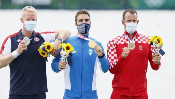 «Χρυσός» με Ολυμπιακό ρεκόρ στο Τόκιο ο Στέφανος Ντούσκος