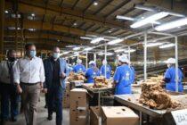 Επίσκεψη Σ. Λιβανού στις καπνοβιομηχανίες της Θράκης