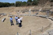 Προστασία και την αναβάθμιση των υποδομών του αρχαίου θεάτρου της Μαρώνειας με πόρους της Περιφέρειας
