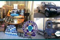 Έβρος: Συνελήφθη συμμορία λαθρεμπορίας προϊόντων