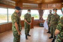 Επίσκεψη του αρχηγού ΓΕΣ στο Δ' Σώμα Στρατού στη Θράκη