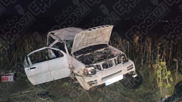 Τροχαίο ατύχημα μεταξύ Διδυμοτείχου Ελληνοχωρίου
