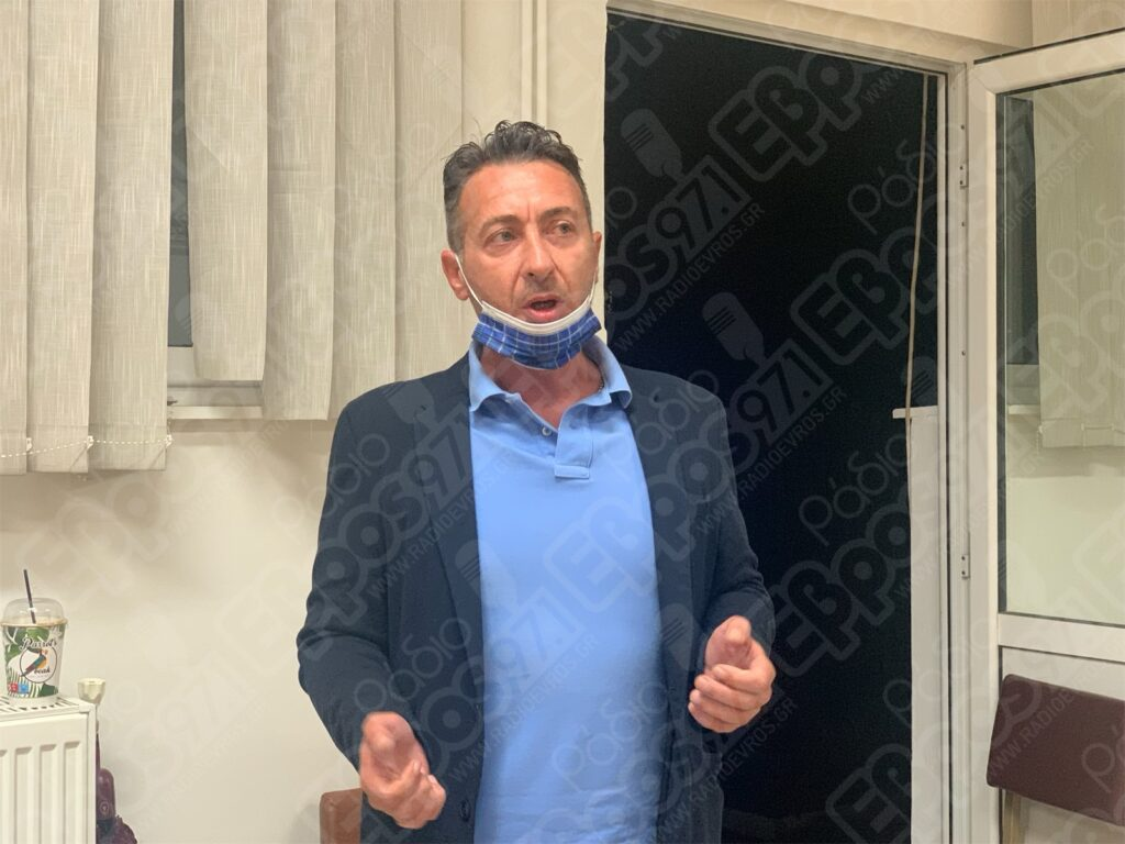 Δημήτρης Πετράκογλου - Πρόεδρος Εργατικού Κέντρου Διδυμοτείχου