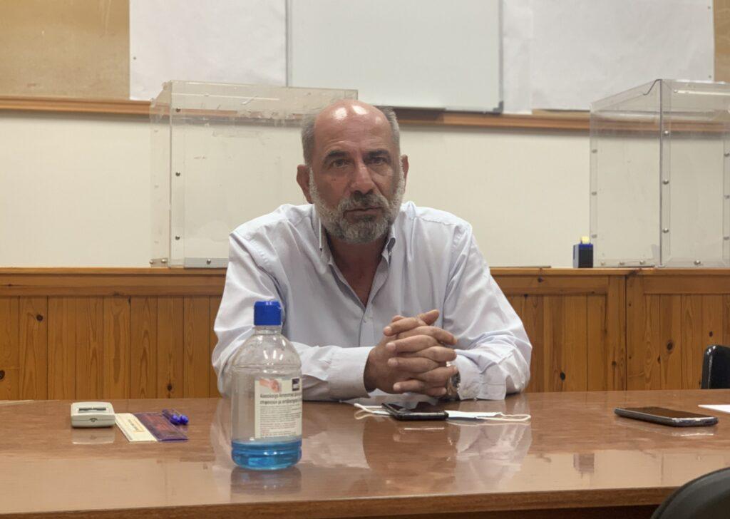 Δημήτρης Παπακωνσταντίνου - Πρόεδρος Εμπορικού Συλλόγου Διδυμοτείχου