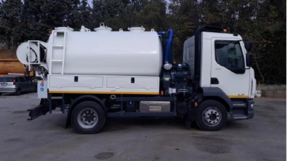 Καινούργιο όχημα εκκένωσης αποφράξεων και μεταφοράς λυμάτων αποκτά ο Δήμος Σαμοθράκης