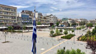 Νέα Ορεστιάδα - κεντρική πλατεία Ορεστιάδας